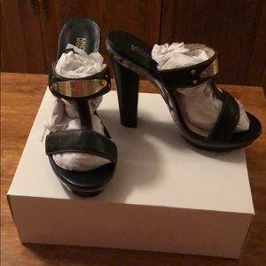 Brand new Michael Kors Heeled Sandals *never worn*